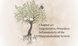 Chapter40: Degenerative and Imflamatory