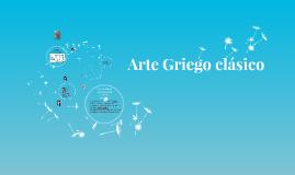 Arte Griego clásico