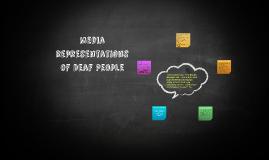 media representations of Deaf People