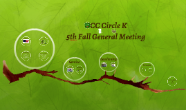 5th General Meeting