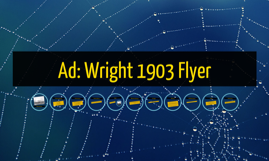 Ad: Wright 1903 Flyer