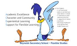Program of Choice Evening - Flex Presentation