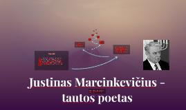Justinas Marcinkevičius -