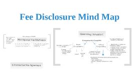Fee Disclosure Mind Map