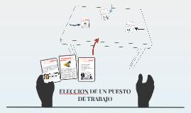 ELECCION DE UN PUESTO DE TRABAJO