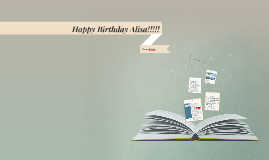 Copy of Happy Birthday Alisa