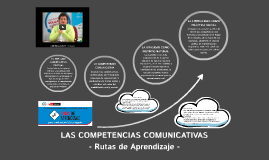 COMPETENCIAS COMUNICATIVAS-RUTAS DE APRENDIZAJE