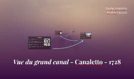 Vue du grand canal - Canaletto - vers 1735