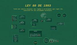 Copy of LEY 80 DE 1993