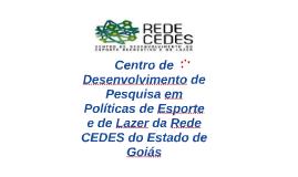 Copy of Centro de Desenvolvimento de Pesquisas em Políticas de Esporte - Avaliação