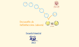 Encuesta de Satisfacción Laboral