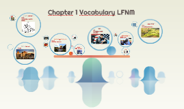 Chapter 1 Vocabulary Part 2