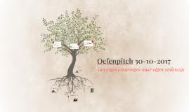 Oefenpitch 30-10-2017
