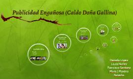 Publicidad Engañosa (Caldo Doña Gallina)