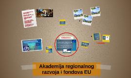 Akademija regionalnog razvoja i fondova EU