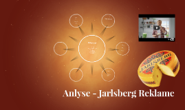 Anlyse - Jarlsberg Reklame