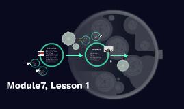 Module7, Lesson 1