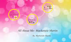All About Me: Mackenzie Martin