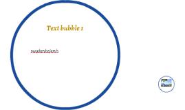Text bubble 1