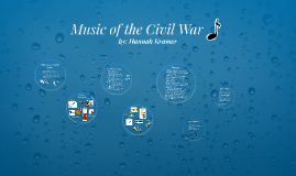 Music of the Civil War