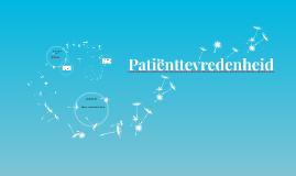Patiënttevredenheid