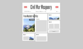 Civil War Weaponry