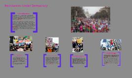 Resistances under democracy