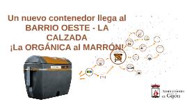 Orgánica La Calzada 2018