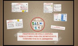 PROPUESTA DE UNA CAMPAÑA PUBLICITARIA PARA INCREMENTAR EL TU