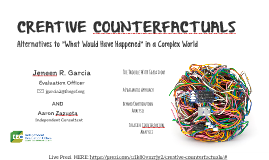 CREATIVE COUNTERFACTUALS