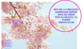 REY DE LA CREACION SOBERANO SEÑOR