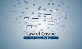 Law of Cosine