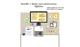 Titulación plataformas digitales