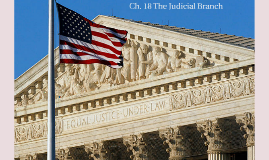 Ch. 18 The Federal court System