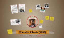 Sexual orientation and the charter vriend v. alberta