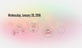 Tuesday, January 19, 2016