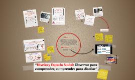 Taller Diseño y Espacio Social_Sesión única