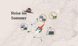 Reise im Sommer