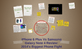 Copy of iPhone 6 Plus Vs Galaxy Note 4 Review: 2014's Biggest Phone