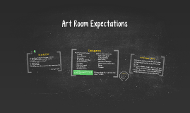 Art Room Rules and Expectations
