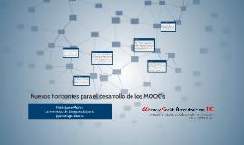 Nuevos horizontes para el desarrollo de los MOOC's