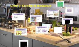 Unité 2: Cuisine et restaurant