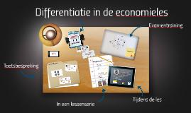 Differentiatie in de economieles
