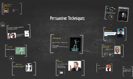 Copy of Persuasive Techniques