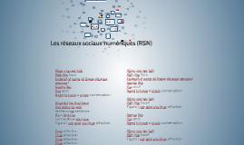 Les réseaux sociaux numériques (RSN)