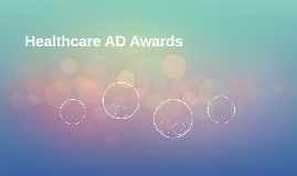 Healthcare AD Awards
