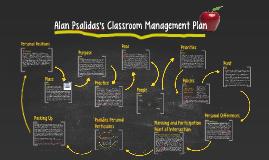Alan Psalidas's Classroom Management Plan