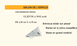 SALON DE L'EMPLOI