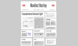Copy of Manifest Destiny