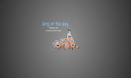 Grej of the day - Frankenstein